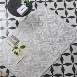 Designers Guild Matta VALBONELLA - SILVER Tre storlekar RUGDG0435-37 (FRI FRAKT)