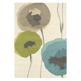 Sanderson Matta Poppies Teal/Olive 140X200 cm