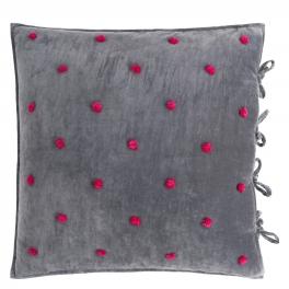 Designers Guild Kuddfodral SEVANTI GRAPHITE QUDG0121 (65x65 cm) 2-pack