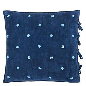 Designers Guild Kuddfodral SEVANTI INDIGO QUDG0116 (65x65 cm) 2-pack - Kuddfodral 2-pack (ingår kudde)