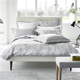A. Designers Guild Bäddlinne FONTAINEBLEAU SLATE - Påslakan 150x210+ett örngott 50x60