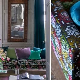 Designers Guild Tygkollektion CASABLANCA (10 tyger men i många färgställningar)