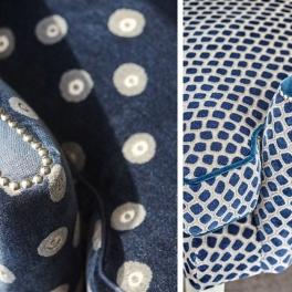 A. Nyhet William Yeoward Tygkollektion LARKIN möbel/gardin (5 tyger men i många färgställningar)