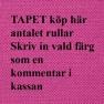 A. Nyhet Ralph Lauren Tapetkollektion SIGNATURE VINTAGE LOFT (9 tapeter men i många färgställningar) - TEABOWL CALICO (6 färger) Köp här per rulle
