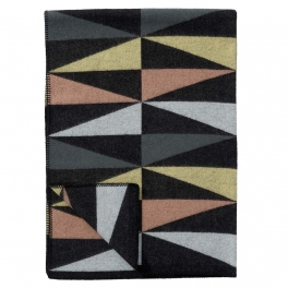 Klippans Yllefabrik Filt ART DECO MULTI art.2268-01 (2-pack) Extra mjuk 60%Merinoull 40%Lammull