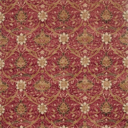 A. Nyhet William Morris Tygkollektion Archive IV - Purleigh Weaves Tyg Montreal 226420