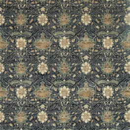 A. Nyhet William Morris Tygkollektion Archive IV - Purleigh Weaves Tyg Montreal Velvet 226389
