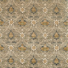 A. Nyhet William Morris Tygkollektion Archive IV - Purleigh Weaves Tyg Montreal Velvet 226390
