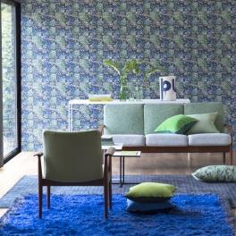 Designers Guild Matta ROSSOLO COBALT Två storlekar RUGDG0461-62 (FRI FRAKT)