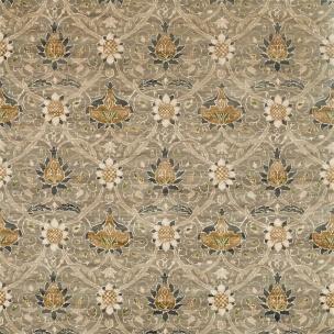 A. Nyhet William Morris Tygkollektion Archive IV - Purleigh Weaves Tyg Montreal Velvet 226390