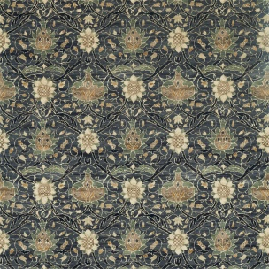 A. Nyhet William Morris Tygkollektion Archive IV - Purleigh Weaves Tyg Montreal Velvet 226389