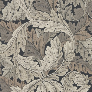 A. Nyhet WILLIAM MORRIS Tapetkollektion Archive IV - The Collector Tapet Acanthus 216442