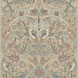 A. Nyhet WILLIAM MORRIS Tapetkollektion Archive IV - The Collector Tapet Bullerswood 216446