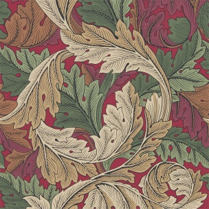 A. Nyhet WILLIAM MORRIS Tapetkollektion Archive IV - The Collector Tapet Acanthus 216439