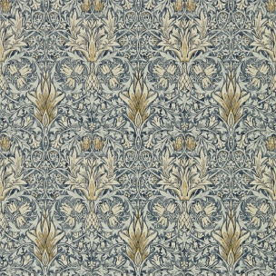 A. Nyhet WILLIAM MORRIS Tapetkollektion Archive IV - The Collector Tapet Snakeshead 216428