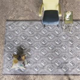 A NYHET Designers Guild Matta Chareau Pebble Tre storlekar RUGDG0483-85 (FRI FRAKT)