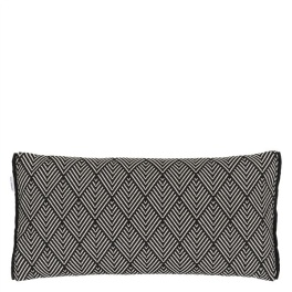 A Nyhet Designers Guild Outdoor Kudde Balian Noir CCDG0765 (2-PACK)