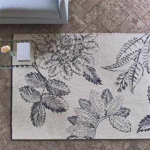 Designers Guild Matta Victorine Zinc Tre storlekar RUGDG0477-79 (Går att måttbeställa)