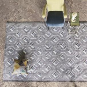 A NYHET Designers Guild Matta CHAREAU PEBBLE Tre storlekar RUGDG0483-85 (Går att måttbeställa)