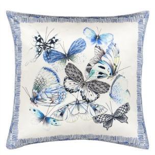A Nyhet Designers Guild Kudde Papillons Cobalt CCDG0727 (1-PACK) - Kudde  En styck