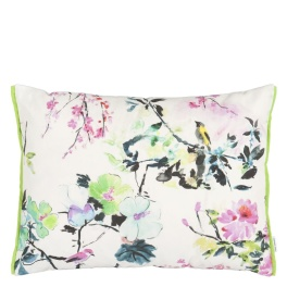 A Nyhet Designers Guild Outdoor Kudde Chinoiserie Peony CCDG0770 (1-PACK)