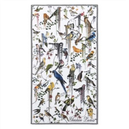 Christian Lacroix Badhandduk Birds Sinfonia Perce-neige 100x180 cm TOWCL0292 (1-PACK)
