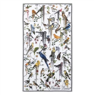 Christian Lacroix Badhandduk Birds Sinfonia Perce-neige 100x180 cm TOWCL0292 (2-PACK)