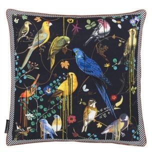 A Nyhet Christian Lacroix Kudde Birds Sinfonia Crepuscule CCCL0531 (1-PACK) - Kudde per st
