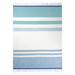 A Nyhet Designers Guild Pläd Chaumont Turquoise BLDG0150 (2-Pack)