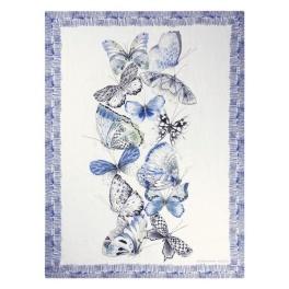 A Nyhet Designers Guild Pläd Papillons Cobalt BLDG0145 (2-Pack)