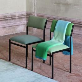 Designers Guild Pläd Savoie Azure BLDG0149 (1-Pack)