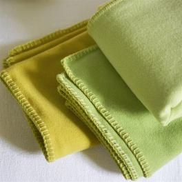 A Nyhet Designers Guild Pläd Savoie Lemongrass BLDG0148 (1-Pack)