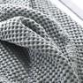 Designers Guild Våfelfilt/Överkast Alba Pale Grey 244x224cm BLDG0157 (2-Pack) Kampanj 25% rabatt på hela köpet över 5000 kr (gäller ej rea och tyger) KOD. GTGYTKXL