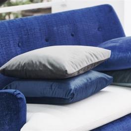 A. Nyhet Designers Guild Tyg Trentino FR sammet (16 färger) Extra bred 295 cm