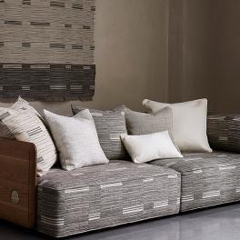 Mark Alexander Tygkollektion Handcrafted Modern II Upholstery Weaves (9 tyger men i många färgställningar)