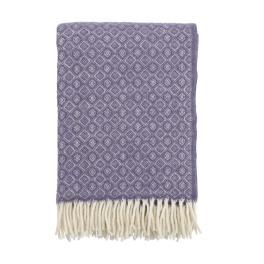 Klippans Yllefabrik Pläd Havanna 2098-03 Lavender (1-Pack)