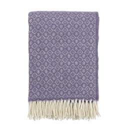 Klippans Yllefabrik Pläd Havanna 2098-03 Lavender (2-Pack)