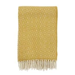 Klippans Yllefabrik Pläd Havanna 2098-06 Yellow (1-Pack)