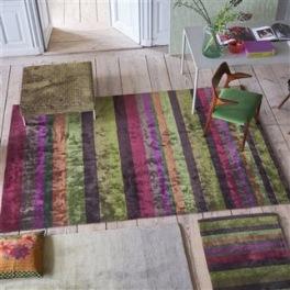 A NYHET Designers Guild Matta TANCHOI BERRY Tre storlekar RUGDG0522-24 (Går att måttbeställa)