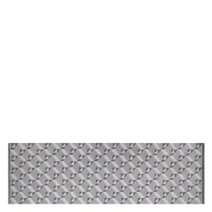 A NYHET Designers Guild Matta DUFRENE ZINC 75X250 cm RUGDG0513  (FRI FRAKT)