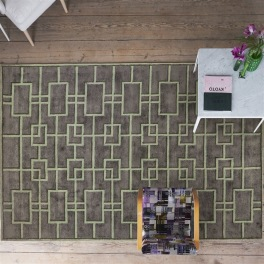 Designers Guild Matta RHEINSBERG SAGE Tre storlekar RUGDG0531-33 (Går att måttbeställa)