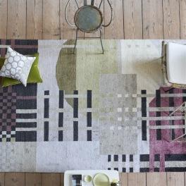 Designers Guild Matta CHANDIGARH BERRY Tre storlekar RUGDG0516-18 (Går att måttbeställa)