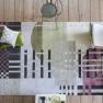 A NYHET Designers Guild Matta CHANDIGARH BERRY Tre storlekar RUGDG0516-18 (Går att måttbeställa)