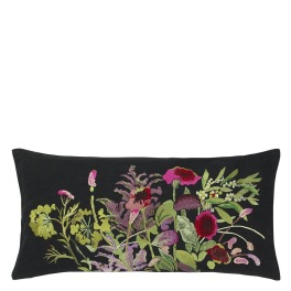 A Nyhet Designers Guild Kudde INDIAN SUNFLOWER GRAPHITE CCDG0791 (2-PACK)