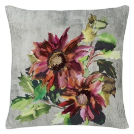 A Nyhet Designers Guild Kudde INDIAN SUNFLOWER GRANDE BERRY CCDG0786 (2-PACK)
