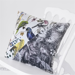 A Nyhet Christian Lacroix Kudde JUNGLE BIRDS PERCE-NEIGE CCCL0558 (1-PACK) - Kudde per st