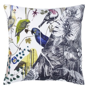 A Nyhet Christian Lacroix Kudde JUNGLE BIRDS PERCE-NEIGE CCCL0558 (2-PACK) - 2-pack Kuddar med rabatt