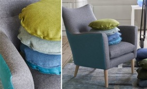 A. Nyhet Designers Guild Tygkollektion MELTON WOOLS