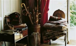 Ralph Lauren Tygkollektion SIGNATURE WOOL TARTANS