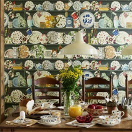 Sanderson Tapetkollektion Emma Bridgewater Collection
